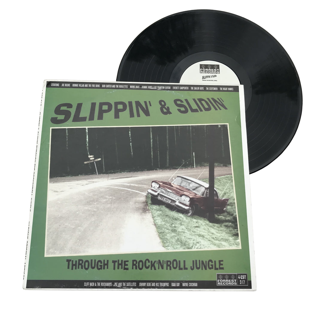 Various: Slippin' & Slidin' Through The Rock 'N' Roll Jungle 12