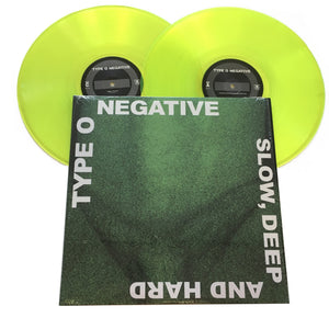 "Type O Negative: Slow, Deep And Hard 12"" (used)"