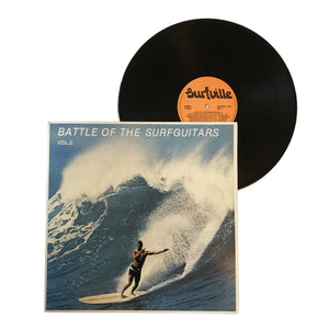 "Various: Battle Of The Surfguitars Vol. 2 12"" (used)"