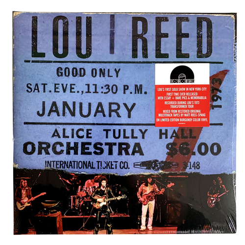 Lou Reed: Live At Alice Tully Hall - 2nd Show 12