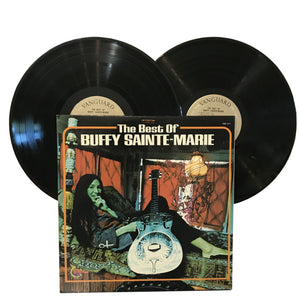 "Buffy Sainte-Marie: The Best Of 2x12"" (used)"