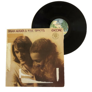 "Brian Auger & Julie Tippets: Encore 12"" (used)"