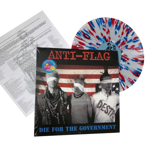 Anti-Flag: Die for the Government 12