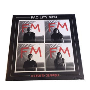 "Facility Men: It's Fun To Dissapear 12"" (used)"