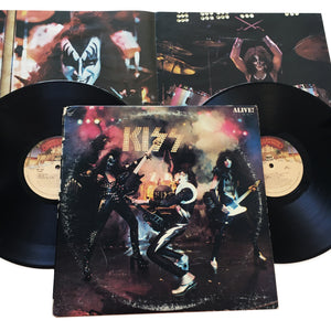 "Kiss: Alive! 2x12"" (used)"