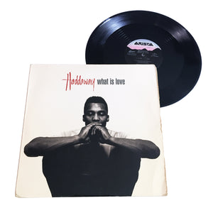 "Haddaway: What Is Love 12"" (used)"