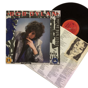 "Bob Dylan: Empire Burlesque 12"" (used)"