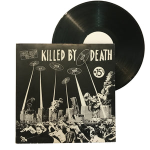"V/A: Killed By Death #15 1/2 12"" (used)"