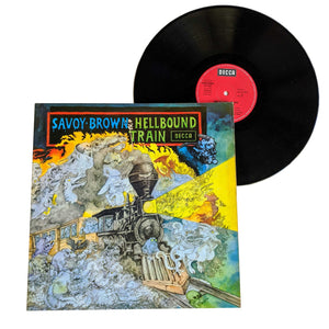 "Savoy Brown: Hellbound Train 12"" (used)"