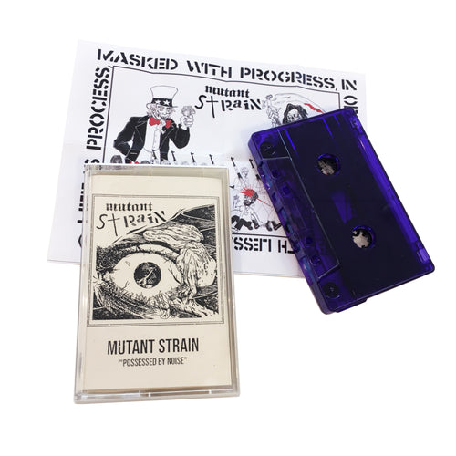 Mutant Strain: Possessed By Noise cassette