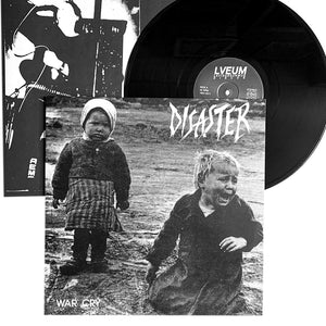 "Disaster: War Cry 12""+flexi"