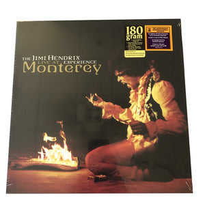 "Jimi Hendrix: Live at Monterey 12"" (new)"