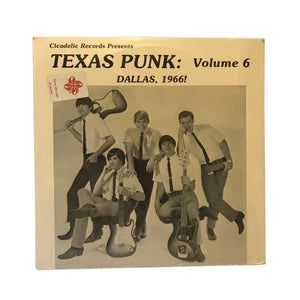 "Various Artists: Texas Punk Vol.6 12"" (used)"