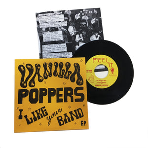 Vanilla Poppers: I Like Your Band 7""