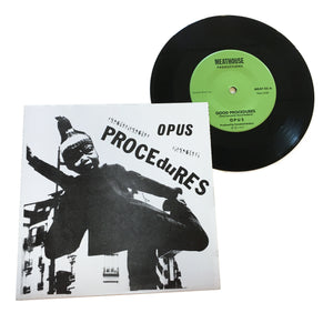 Opus: Procedures/The Atrocity 7""