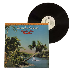 "Country Joe McDonald: Paradise With An Ocean View 12"" (used)"