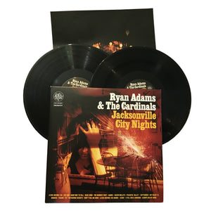 "Ryan Adams & The Cardinals: Jacksonville City Nights 12"" (used)"
