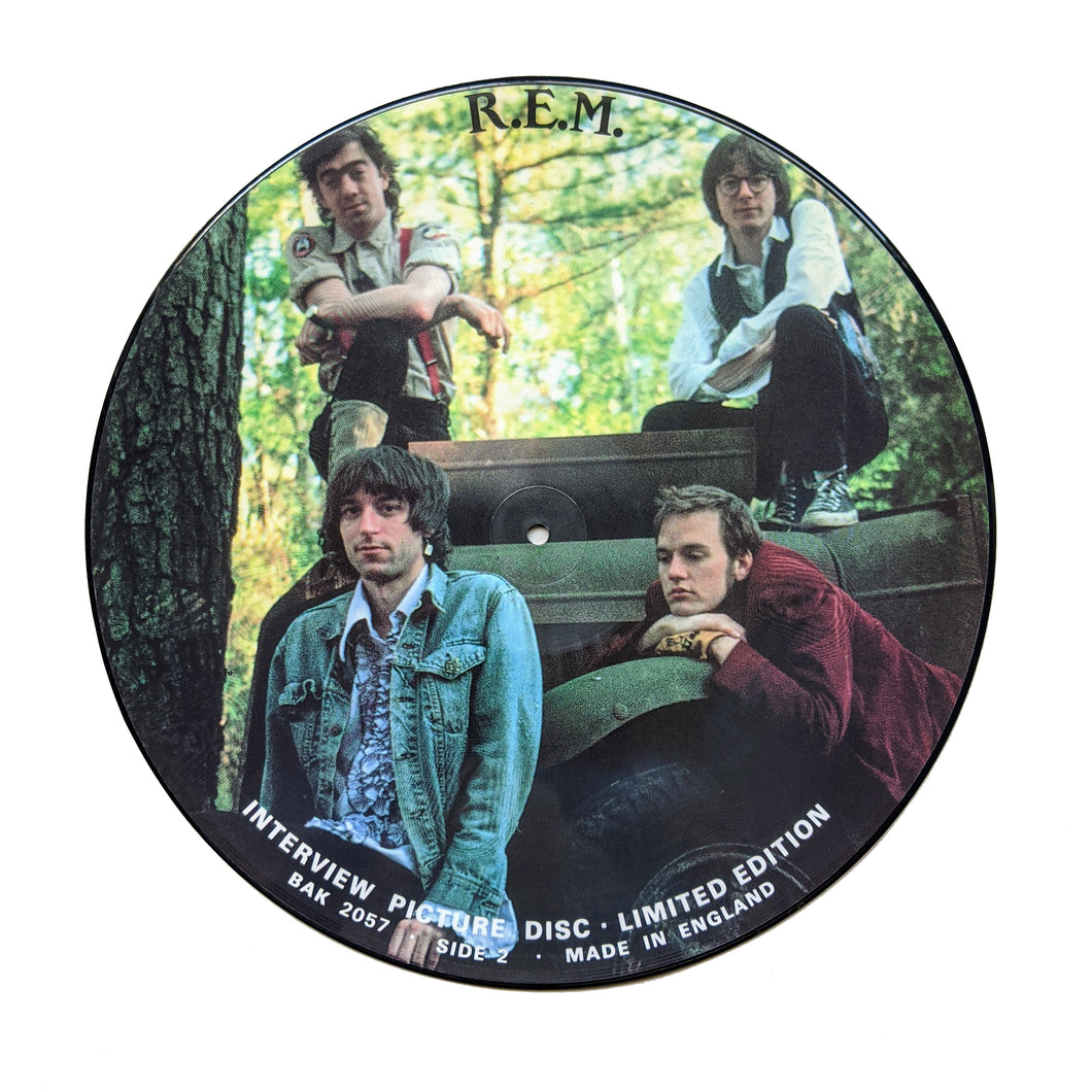 REM: Interview Picture Disc 12