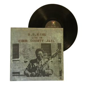 "BB King: Live In Cook County Jail 12"" (used)"