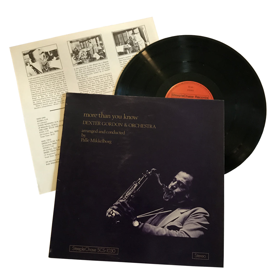 Dexter Gordon & Orchestra: More Than You Know 12
