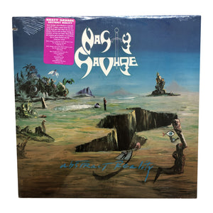 "Nasty Savage: Abstract Reality 12"" (sealed 1988 dead stock)"