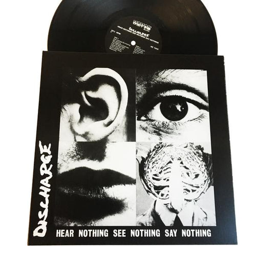 Discharge: Hear Nothing, See Nothing, Say Nothing 12