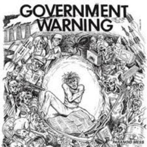 Government Warning: Paranoid Mess 12""