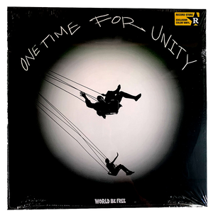 "World Be Free: One Time For Unity 12"" (Indie Exclusive blue vinyl!)"