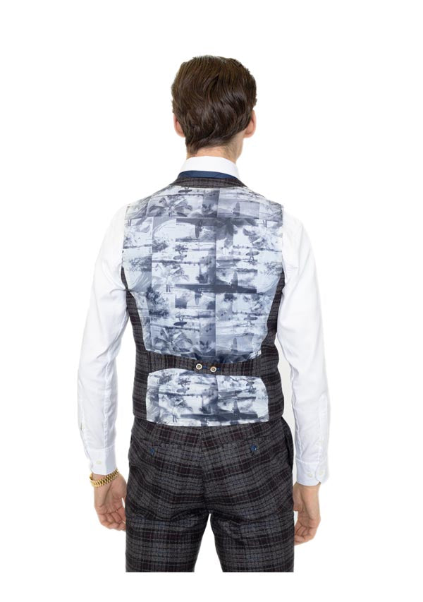 5506 Waist Coat - Black (Price reduction more than 50%)