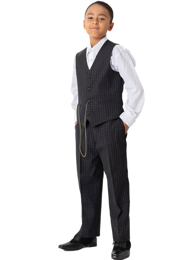 5507 - Black Check (Price reduction more than 10%)