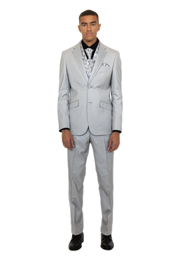 3 Piece Suit 5473 - Light Grey