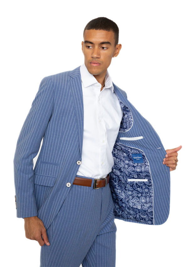 2 Piece Suit 5511 - Pale Blue (Price reduction 50%)
