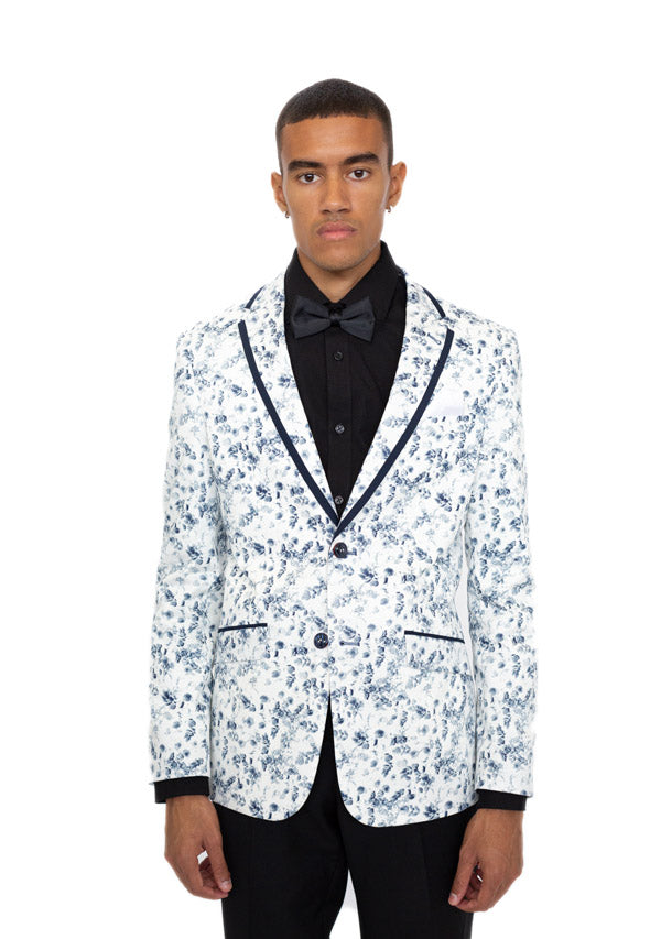 Blazer 5490 - Flower Blue (Price reduction 50%)