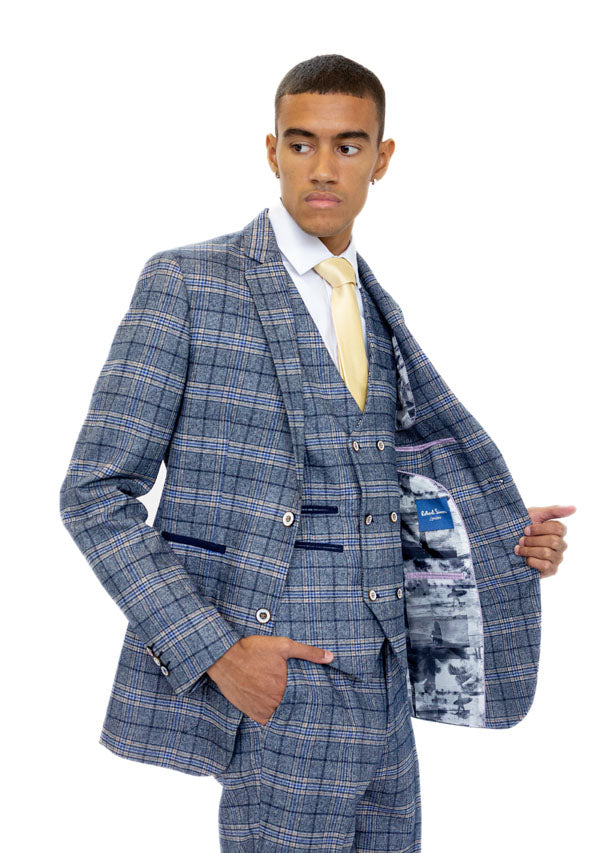 5506 Waist Coat - Blue (Price reduction more than 50%)