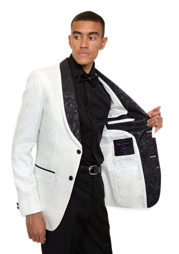 Blazer 5508 - White & Black (Price reduction 50%)