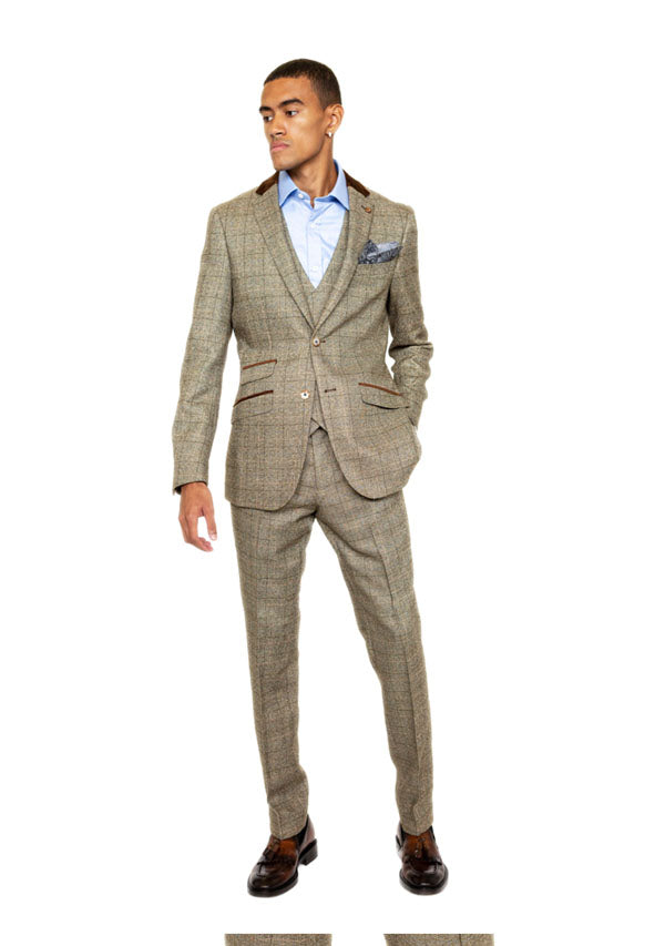 5471 Trouser - Beige (Price reduction more than 50%)