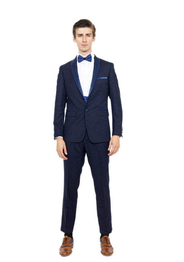 3 Piece Suit 5509 - Navy