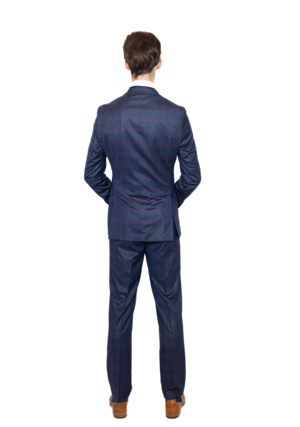 3 Piece Suit 5510 - Tonic Blue (Price reduction more than 50%)