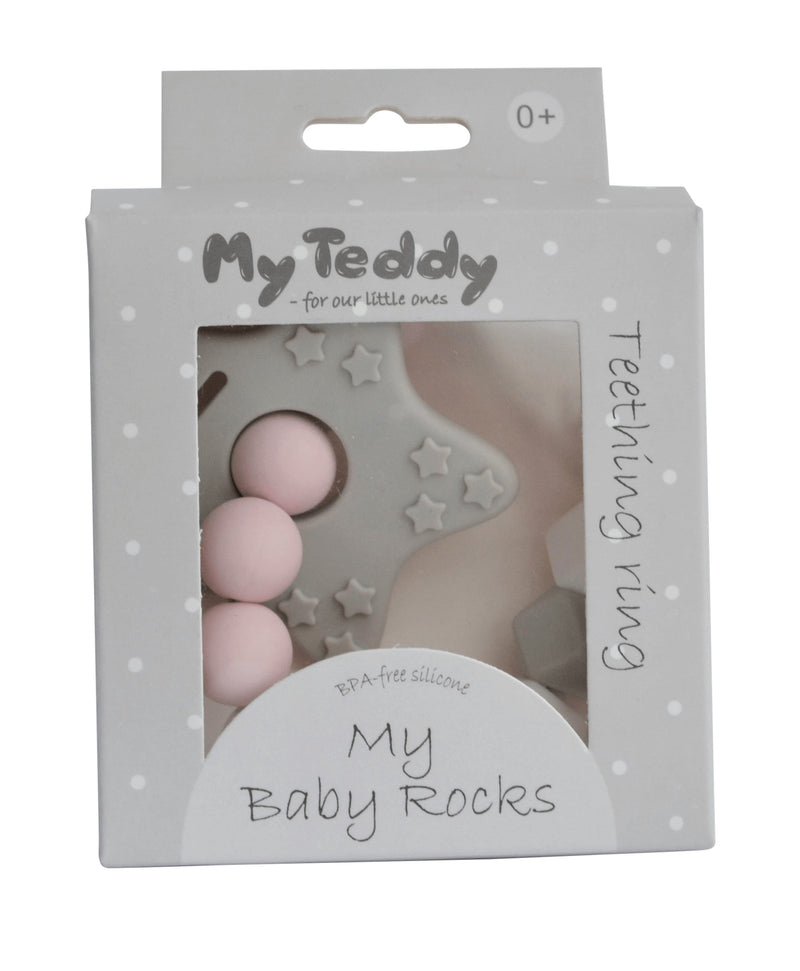 My Baby Rocks Diamond bidering, pink