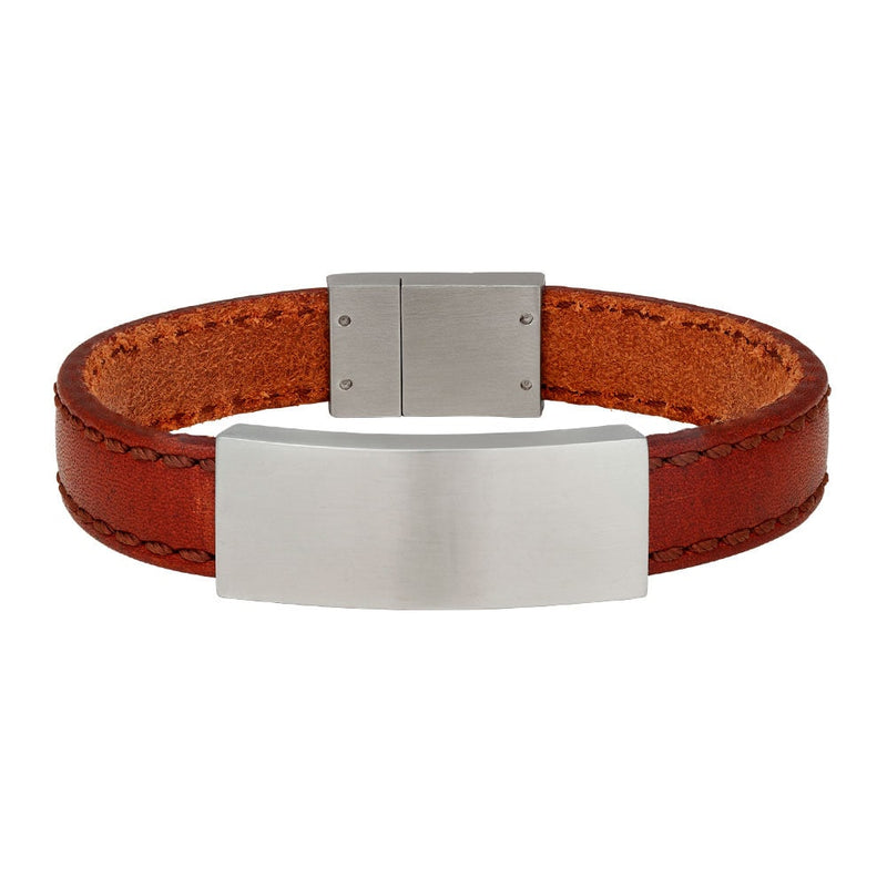 SON armbånd - Brown calf leather