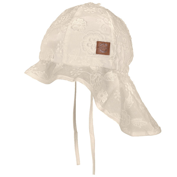 Sommerhat Long Neck - White (UV50+)
