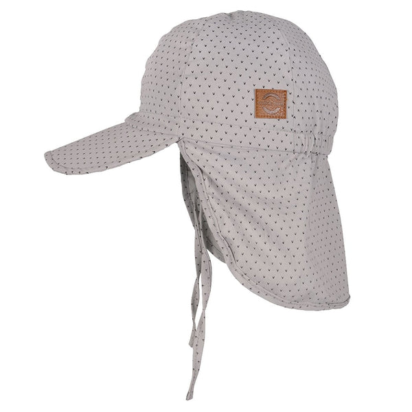 Sommerhat Cap Long Neck - Gray Mist (UV50+)