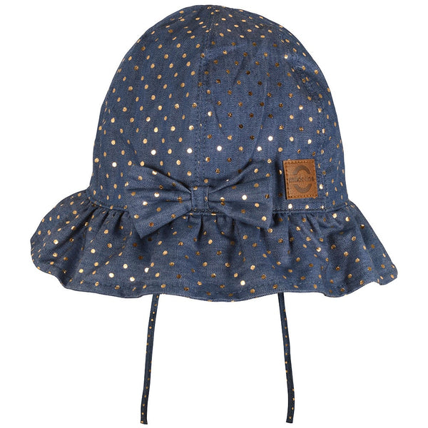 Sommerhat Bucket Bow - Denim Blue (UV50+)