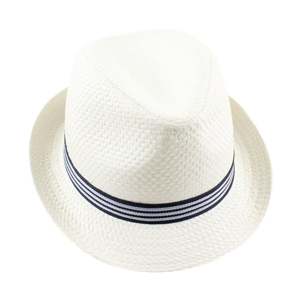 Nordic Straw Hat - Off White