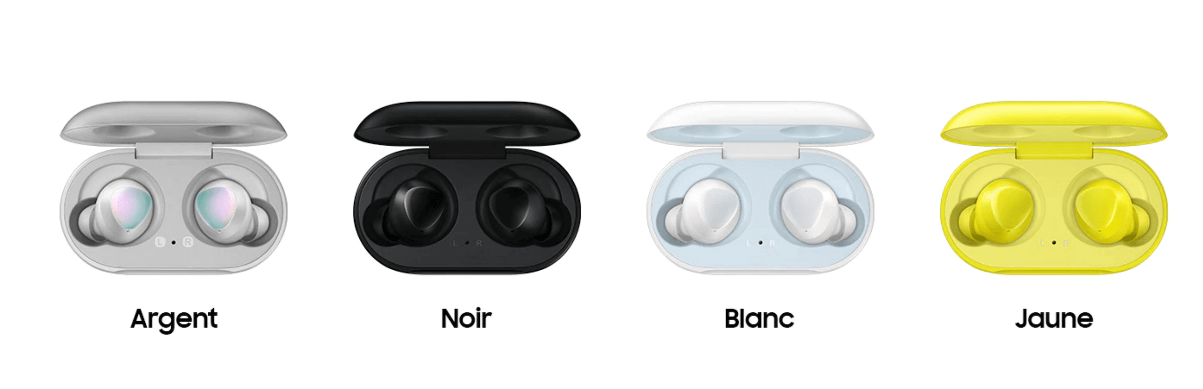 couleurs samsung galaxy buds