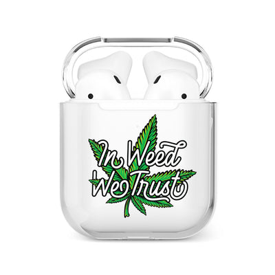 coque airpods cannabis