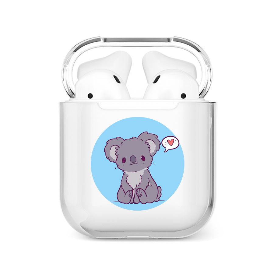 coque airpods koala