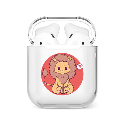 coque airpods lion
