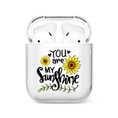 coque airpods tournesol