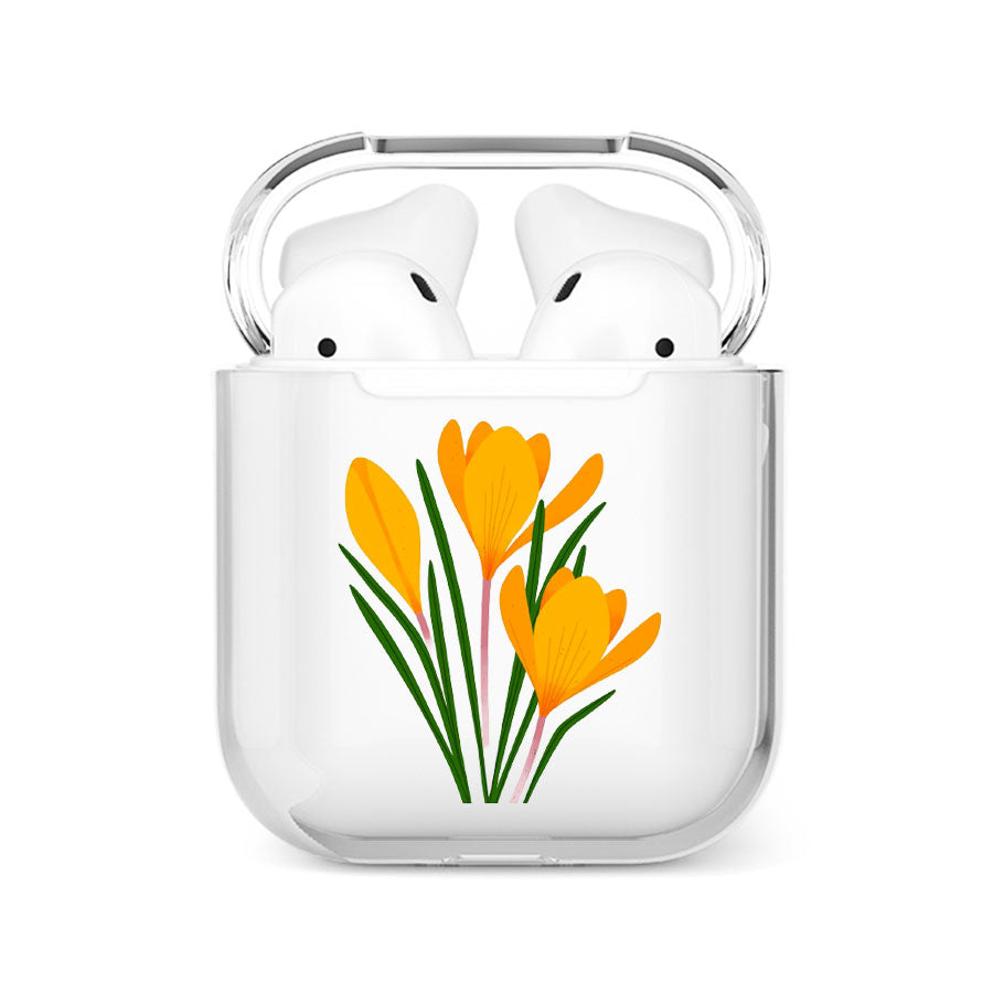 coque airpods tulipes